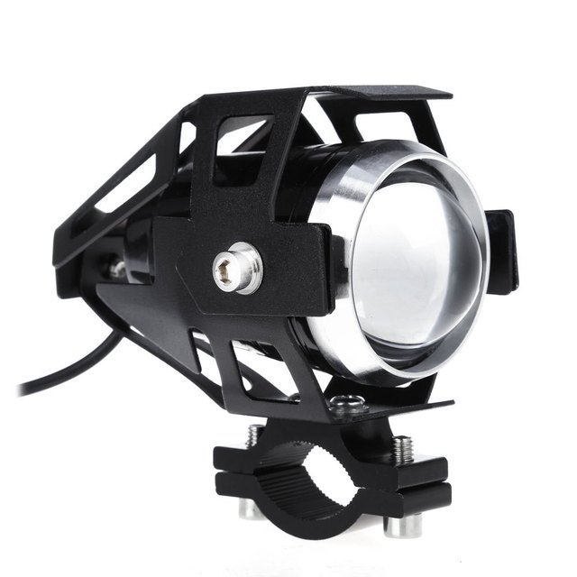 U5 3000LM 125W Upper Low Beam Motorcycle Headlight LED Driving Motorbike Lamp Without Contain Harmful Elements with Radiation