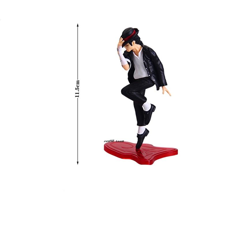 [Ny] Högkvalitativ Michael Jackson Konungen av pop PVC Action - Toy figuriner - Foto 2