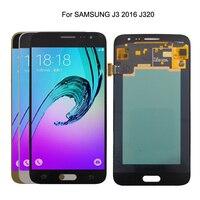 AMOLED For SAMSUNG Galaxy J3 2016 J320 LCD Display Touch Screen For Samsung J320 J320FN Screen LCD Digitizer Display
