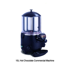 ITOP 1000W Commercial Hot Chocolate Machine 10L Electric Dispenser Baine Marie Mixer Chocofairy