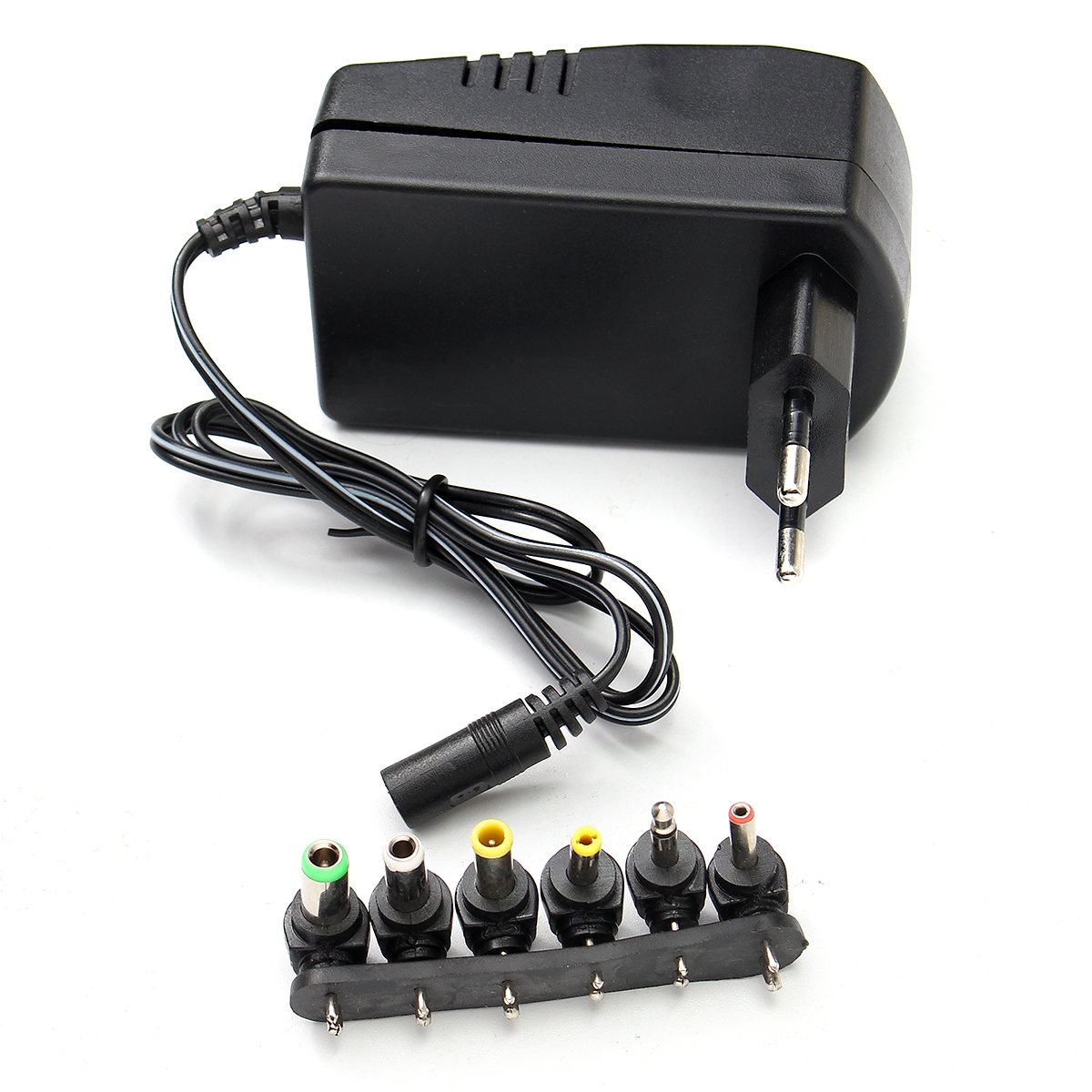 EU/US Plug 6 Voltage 3v <font><b>4.5v</b></font> 5v 6v 9v 12v <font><b>DC</b></font> Adaptor Adjustable Power <font><b>Adapter</b></font> Universal Charger Power Supply Converter Cable image
