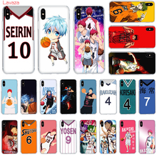 Lavaza Anime Kuroko no Basket Hard Phone Case for Apple iPhone 6 6s 7 8 Plus X 5 5S SE XS Max XR Cover