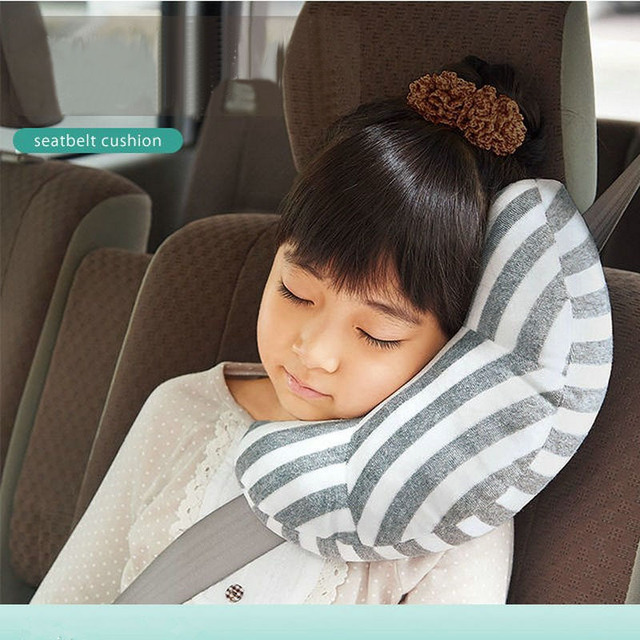 Soft Baby Toy Toddler Headrest Pillow Head Protection Children Car Safety Seat Neck Support