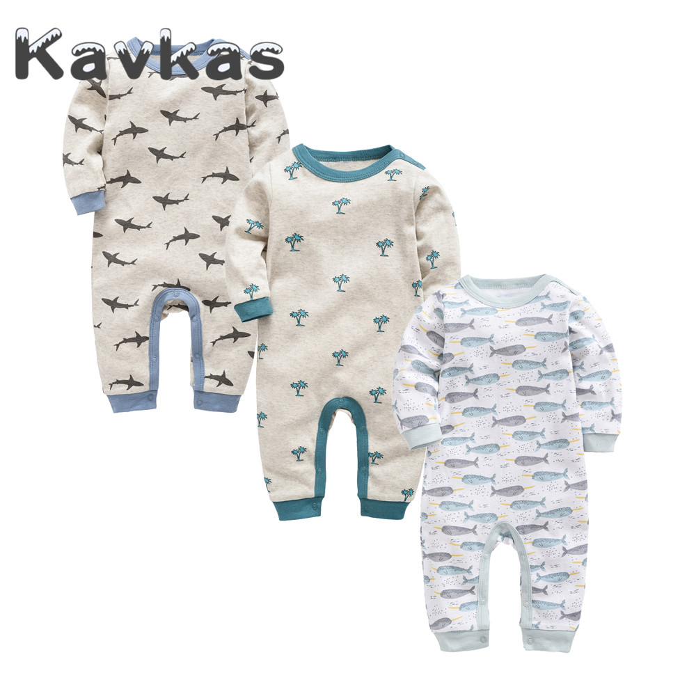 2019 New Style 1 2 3 pcs Baby Girl Clothes Long Sleeve 0-12 Months Cotton Baby   Rompers   roupa de bebes Newborn Boys Jumpsuit