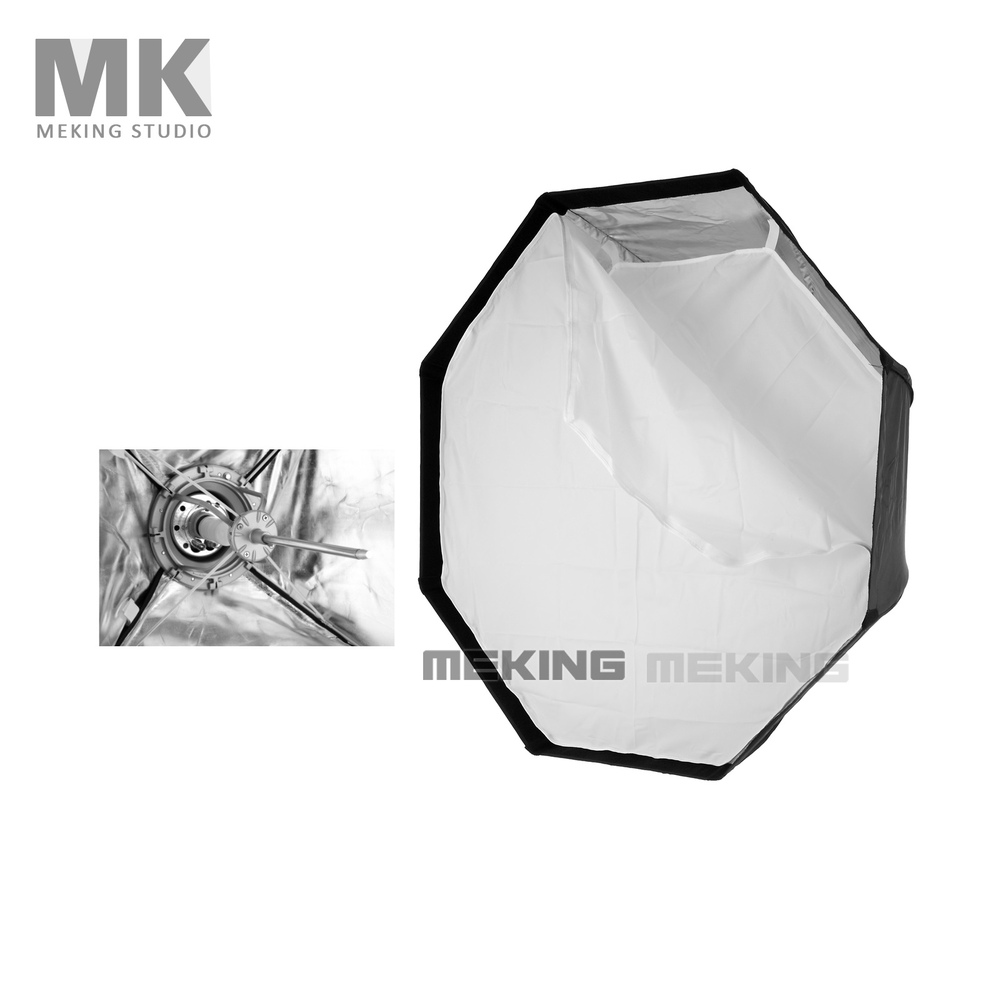 Meking photographic Soft box 95cm Octagon Softbox for Bowens Mount Quick Set up with carrying bag meking octagon softbox 170cm 67 strobe mono light softbox with speed ring bowens mount for photographic