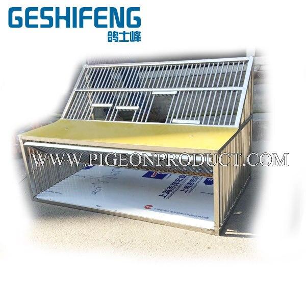2 pc livraison gratuite 100 cm cage à sauter pliable cage en métal cage volante