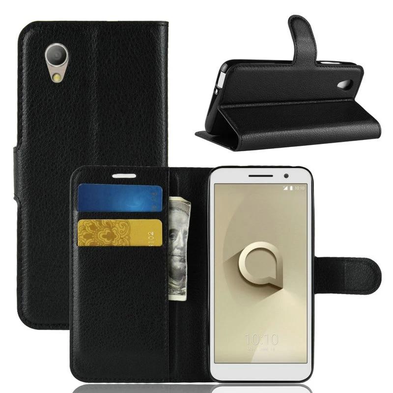 Portefeuille à rabat en cuir pour voiture, étui pour téléphone intelligent