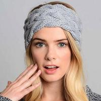 כוכב רחוב הגעה חדש אופנה להקות שיער סרטי ראש סרוג תרמית הגנת אוזן אישה חורף סתיו אופנה שיער אבזר