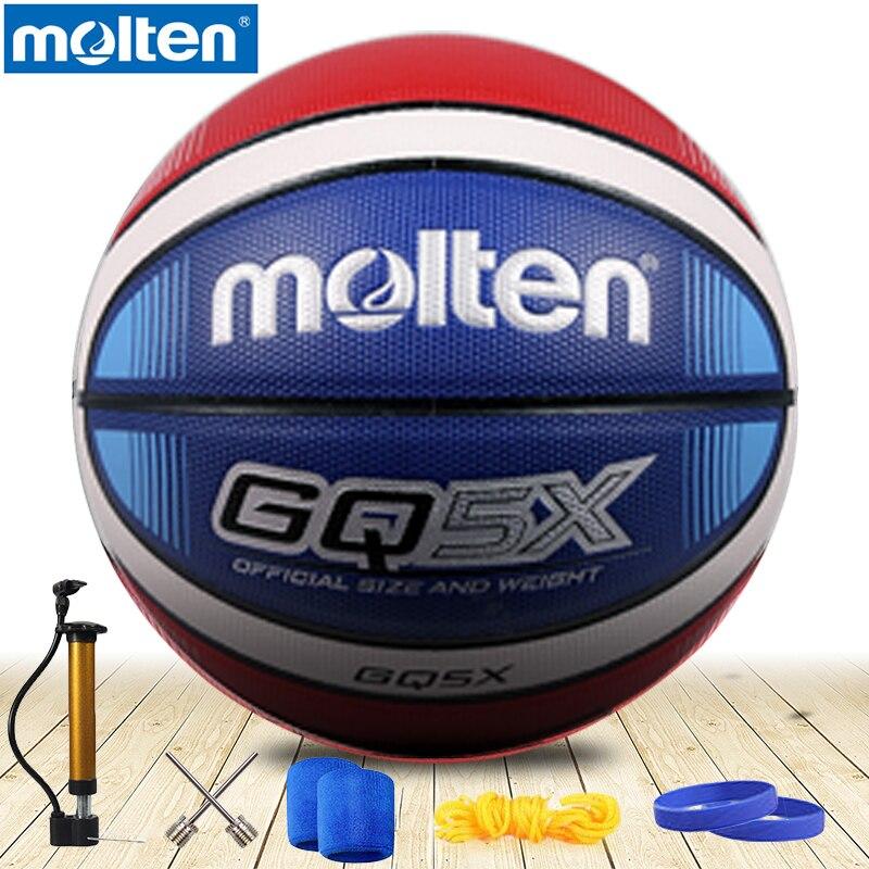 original molten basketball ball GQ5XNEW Brand High Quality Genuine Molten PU Material Official Size6 5 Basketball