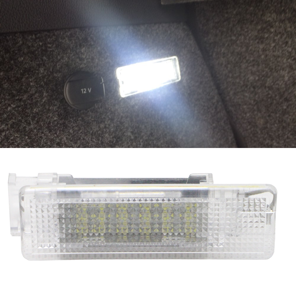 1 X 12v Led Luggage Lamp Interior Dome Light Car Trunk