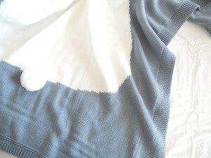 Image 5 - หมีการ์ตูนฟ็อกซ์กระต่ายสัตว์น่ารักผ้าห่มเด็กโยนโซฟา/Bed/Plane Travel Plaidsร้อนจำกัดปิกนิกผ้าขนสัตว์