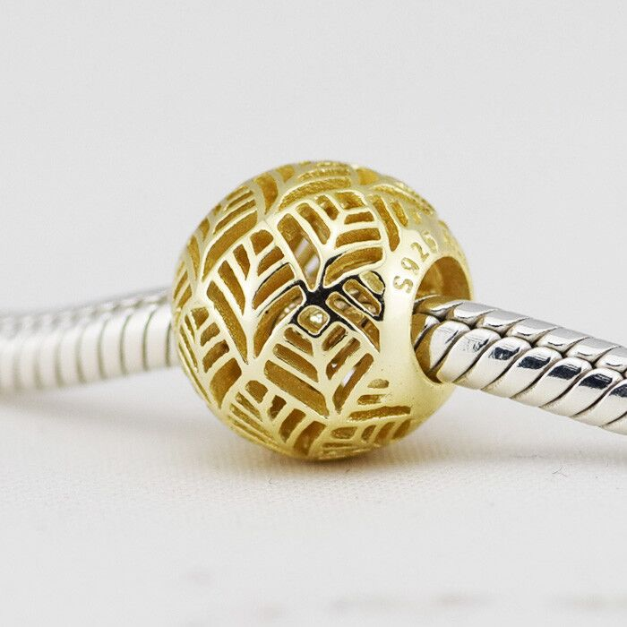 Fits for Pandora Charms Bracelets Authentic 925 Sterling Silver Jewelry Abstract Beads Free Shipping