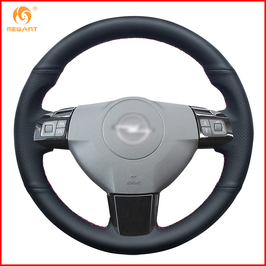 MEWANT Steering-Wheel-Cover Opel Vauxhall Interior-Accessories-Parts 2005 Artificial-Leather title=