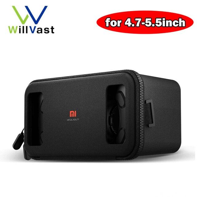 Original Xiaomi mi VR Headset Mi VR BOX Virtual Reality Goggles 3D Glasses for Xiaomi iPhone Huawei for 4.7''-5.7'' Smartphone