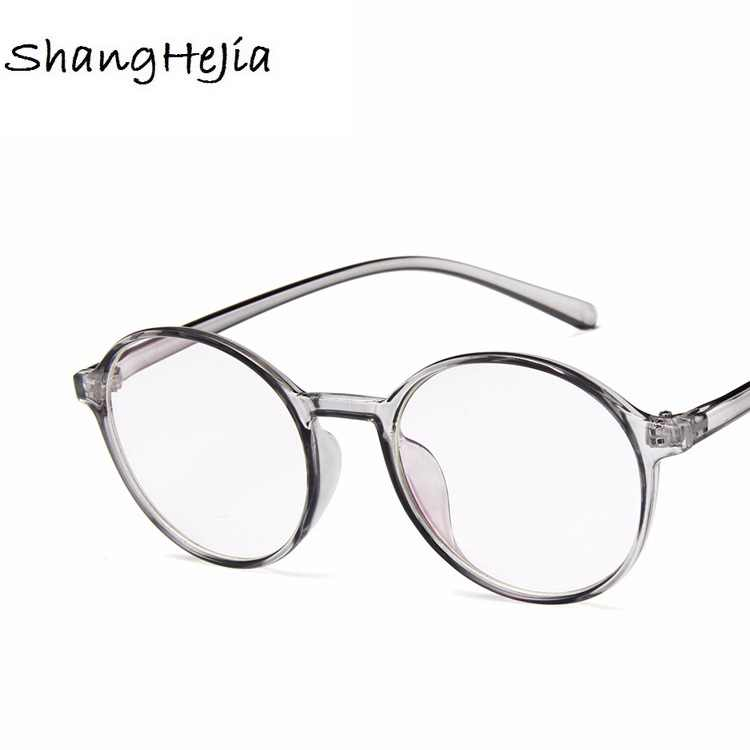 693c4bc770 ... NEW Fashion Women Glasses Frame Men Eyeglasses Frame Vintage Round  Clear Lens Glasses Optical Spectacle Frame ...