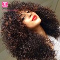 7a Unprocessed Virgin Mongolian Kinky Curly 3 Bundles Wet And Wavy Weave Mongolian Hair Kinky Curly Virgin Hair Dream Diana Hair