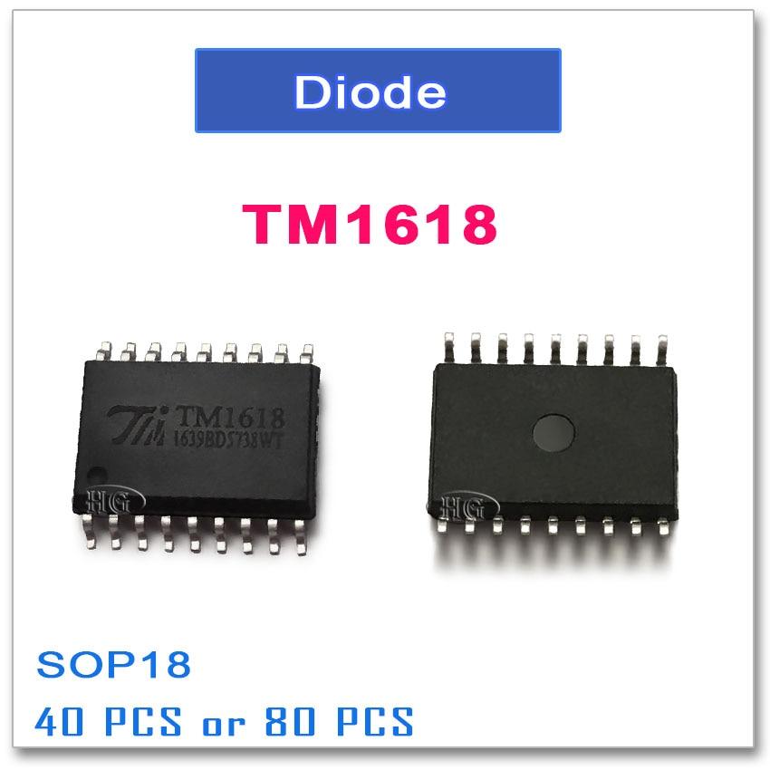 50 PCS TM1618 SOP-18 TM 1618 CHIP IC
