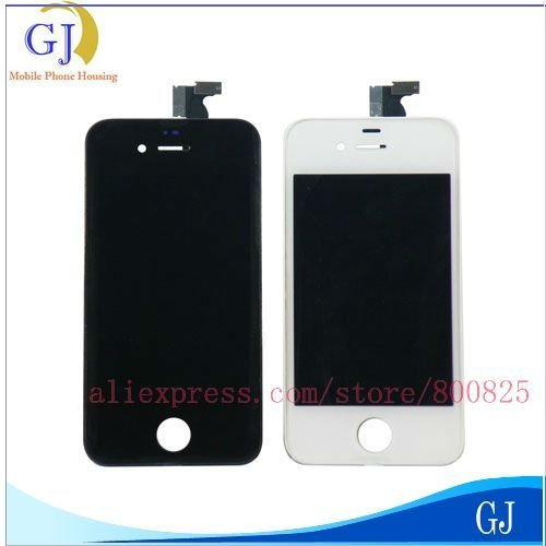 4G Digitizer,For iPhone 4 LCD +Touch Screen+Frame,For CDMA Versions Replacement Assembly,Free Shipping