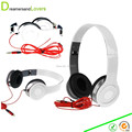 Foldable Stereo Cellphone Headphones Headset For Tablet iPhone Samsung Smartphones & Audio Device with 3.5mm Headset Jack White