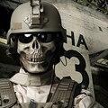Скелет Призрак Тактический Военный Пейнтбол Маски Балаклава Halloween Airsoft Открытый Армия Защиты Съемки Полный Маска