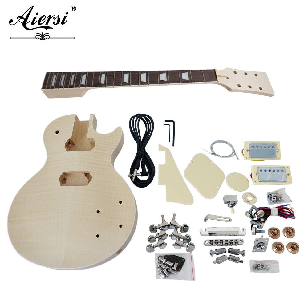 China Aiersi Custom LP style DIY Electric Guitar Kits Model EK-004China Aiersi Custom LP style DIY Electric Guitar Kits Model EK-004