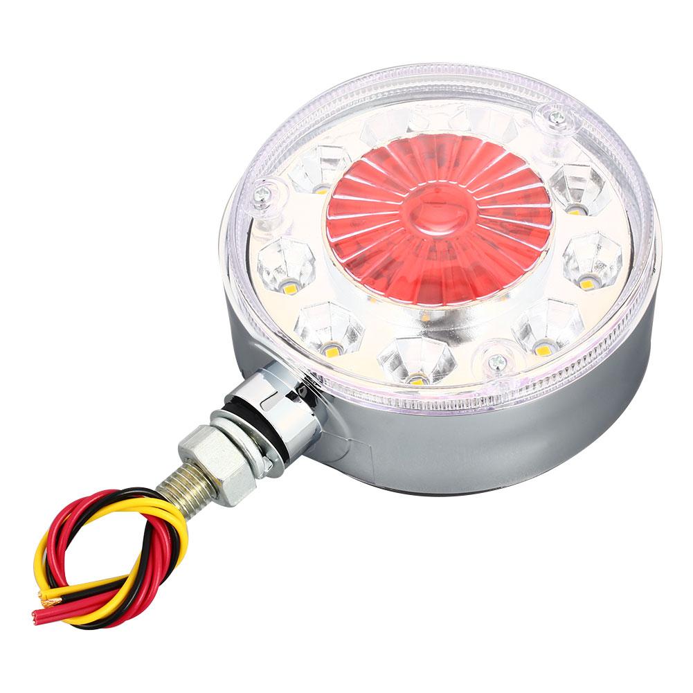 Vehemo двойной цвет 28LED указатели поворота сигнальные лампы тракторы яркие водонепроницаемые задние фонари грузовика световой стоп-сигнал на крышу
