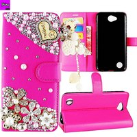 2018 Glitter Leather Phone Case For Samsung Galaxy S9 S8 Plus S7 S6 Edge S5 Note