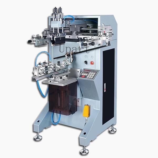 цены single color label bottles/cups/tubes/volumetric flasks automatic cylinderical screen printer