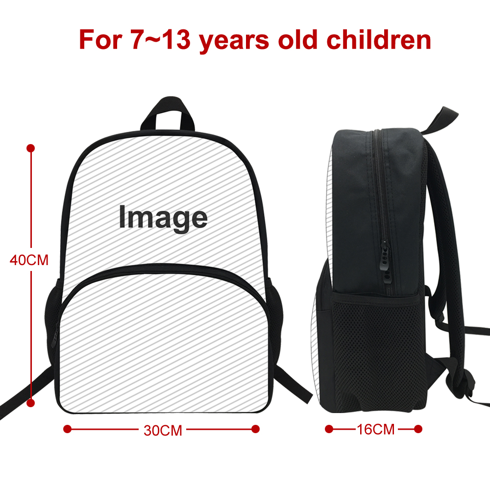 Image 4 - 16 inch Popular Animal Printing Backpack For Kids Jurassic World Fallen Kingdom Bags For Girls Boys Children School-in Backpacks from Luggage & Bags