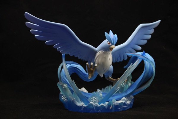 MODEL FANS IN-STOCK Genuine poke studios 17cm pokemon Articuno GK resin made figure toy for Collection model fans in stock 23cm pokemon snorlax gk resin made figure toy for collection
