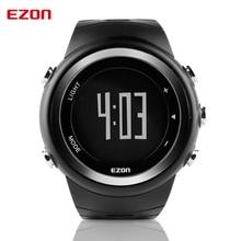 2017 relojes de los hombres calientes de la marca famosa ezon t023 podómetro contador de calorías reloj masculino reloj deportivo digital correr al aire libre