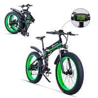 Electric bicycle 1000W Electric Beach Bike 4.0 Fat Tire Electric Bike 48V Mens Mountain Bike Snow E bike 26inch Bicycle