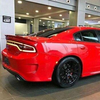 Para Dodge Charger Alta Qualidade Material ABS Asa Traseira Do Carro Spoiler Primer Spoilers Traseiro Estilo Cor Original 2014-2017