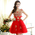 free shipping Factory direct 2015 new Korean bride toasts cocktail dresses for women
