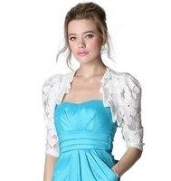 5 couleurs vente chaude nouveau 2015 mode court évider crochet dentelle cape veste d'été petite femelle mince cardigan D3867