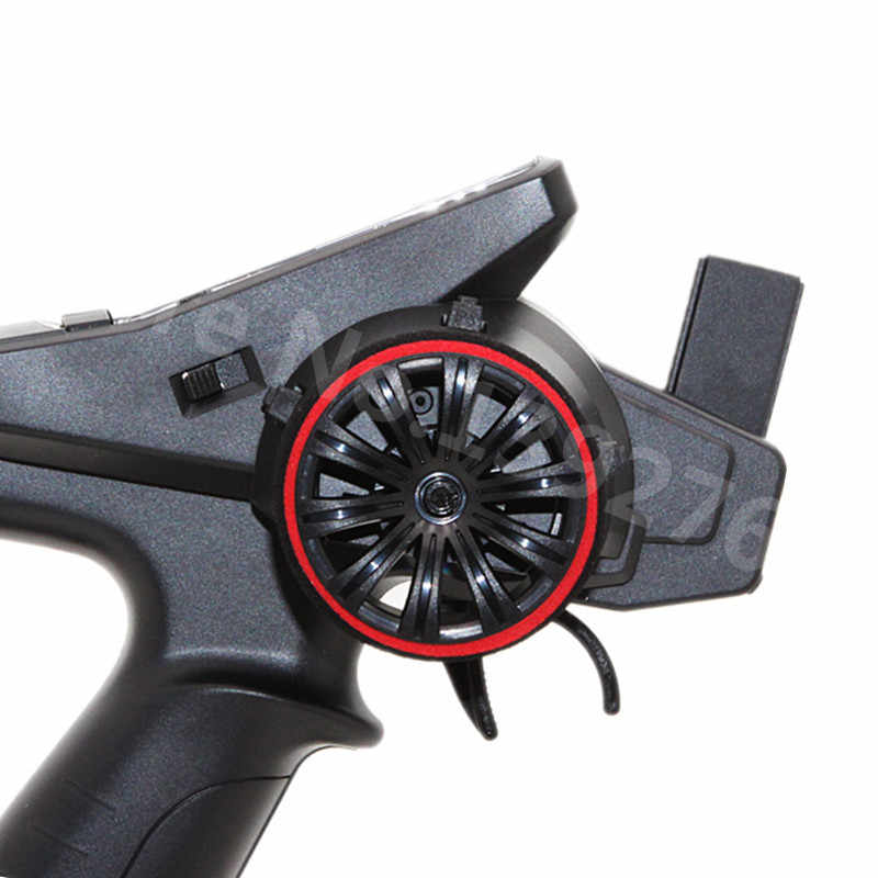 2 Warna Mobil RC Transmitter Steering Wheel Busa Pegangan Tangan Roda Spons untuk Traxxas Futaba 3pv 4pls 4pv 4px R 7px RRC X4 FS GT2