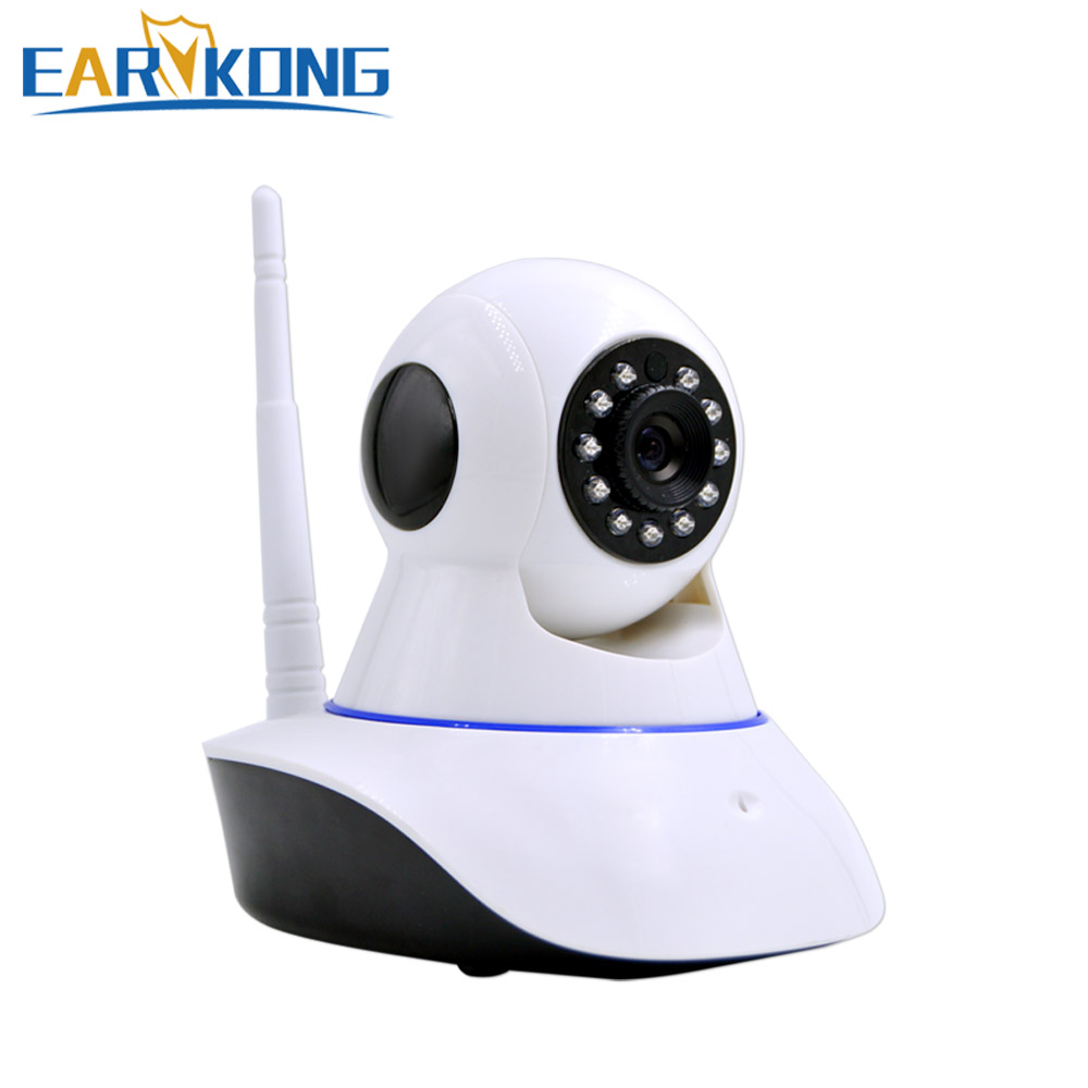 2.4G Wifi Alarm Camera Network Alarm. Compatible with 433MHz wireless detector. Compatible G90B WIfi GSM Alarm System.