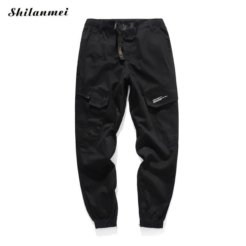 2018 Men Fashion Streetwear Mens Jeans Jogger Pants Youth Casual Camouflage Printed Cotton Pants European Male Long Trousers