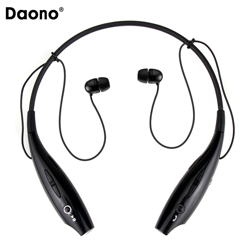 DAONO Bluetooth Earphone Wireless Headphones with Microphone Sport Stereo V4.1 Bluetooth Headset for iPhone Android Phone remax rb s6 wireless bluetooth earphone headphones with microphone sport stereo bluetooth headset for iphone android phone
