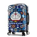 New Doraemon Cartoon Luggage Men and Women Fashion Travel Suitcase Universal Wheels Trolley Luggage Bag Jingle Cats Luggage