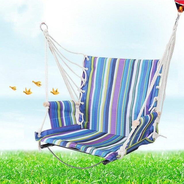 Hot selling indoor and outdoor essential artifact adult children's indoor swing hammock dormitory rocking swing