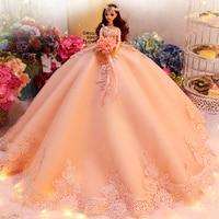 Large Skirt Princess Dolls Toys For Girls Wedding Dolls Lol Toy Reborn Doll Toy Girl Emulation Reborn Doll Toys For Children