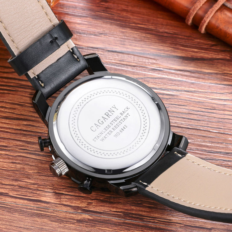 Случайни кварцов часовник мъжки - Мъжки часовници - Снимка 5