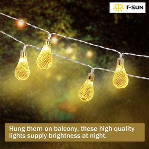 T-SUN Holiday String Lights Le