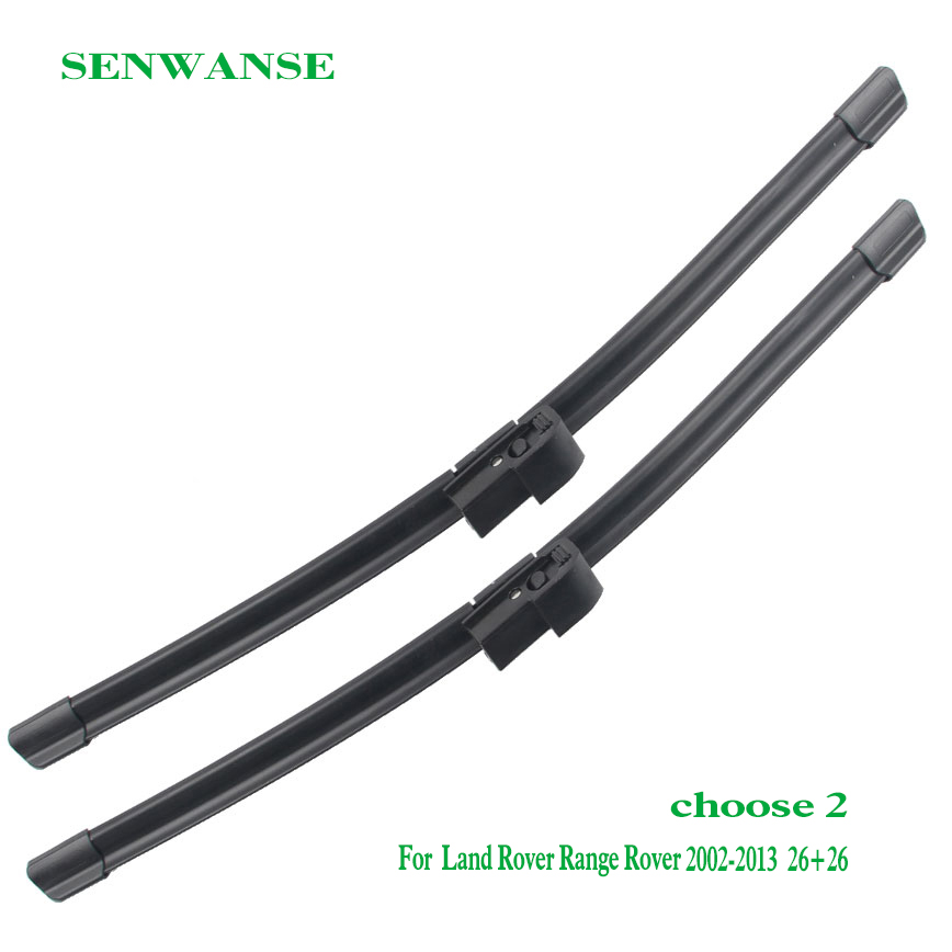 Senwanse pair Windshield Wiper blades for Land Rover Range Rover L322 L332 L405 Vogue P38 car front windscreen auto accessories in Windscreen Wipers from Automobiles Motorcycles