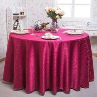 Avrupa tarzı ev masa örtüleri baskılı nappe blanche masa örtüsü yerleşimi tığ masa örtüsü ziyafet mantel ronde de mesa