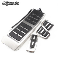 DSG Sports Pedals for Audi A4L A6L A7 A8 S4 RS4, A5 S5 RS5 8T, Q5 SQ5 8R Fuel Brake Footrest Pedal Cover Auto Accessories