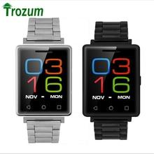 Trozum no. 1 g7 smart watch mtk2502 bluetooth 4.0 monitor del ritmo cardíaco del podómetro sleep monitor de gsm smartwatch para android ios