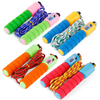 2.5M Sponge Handle Skipping Counter Crossfit Jumping Rope Workout Fitness Speed Skipping Rope Gym Equipment Jump Rope skipping rope