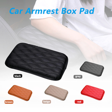 Car Accessories Auto Interior Supplies Universal Armrest Box Cover Increased Pad Armrest Box Pad Comfortable Central Hand Pad